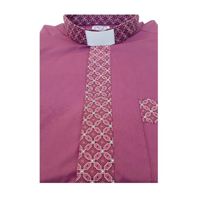 Contrast Shirt Bishop Cerise