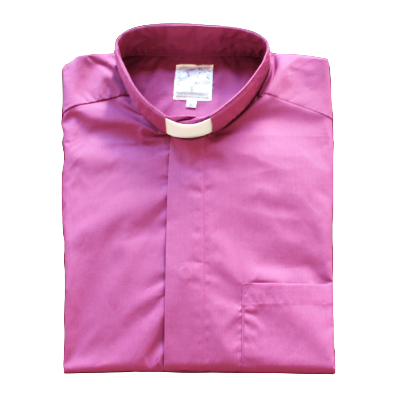 Clerical Shirt Bishop Cerise