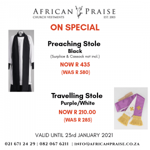 PREACHING & TRAVELLING STOLE